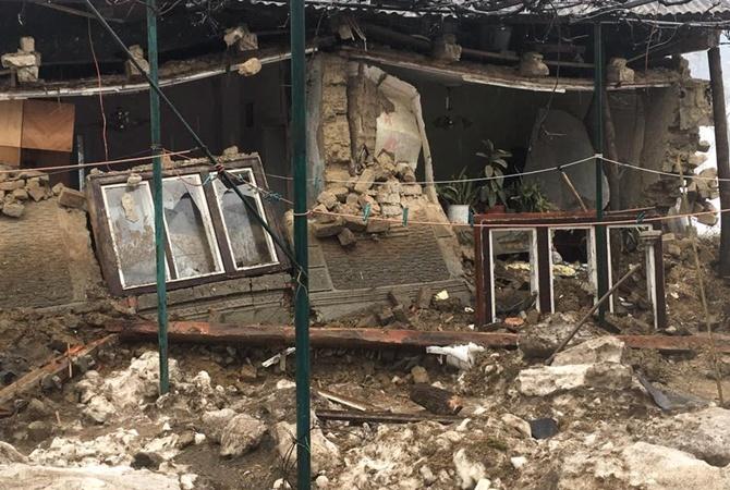 Взакарпатском селе наводнение разрушило два дома