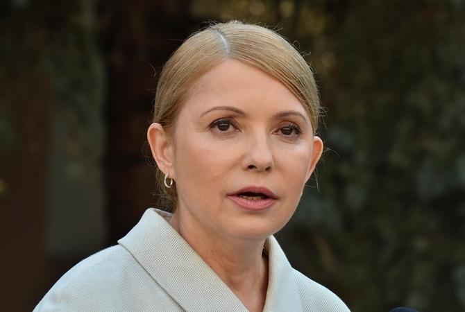 Тимошенко поведала опроисках Порошенко