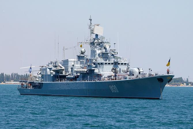 Кабмин выделил неменее 90 млн грн на модификацию фрегата «Гетман Сагайдачный»