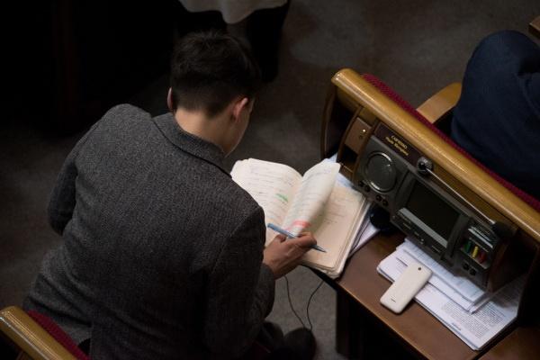 Рада может рассмотреть исключение Савченко иЛевочкина изсостава комитета нацбезопасности
