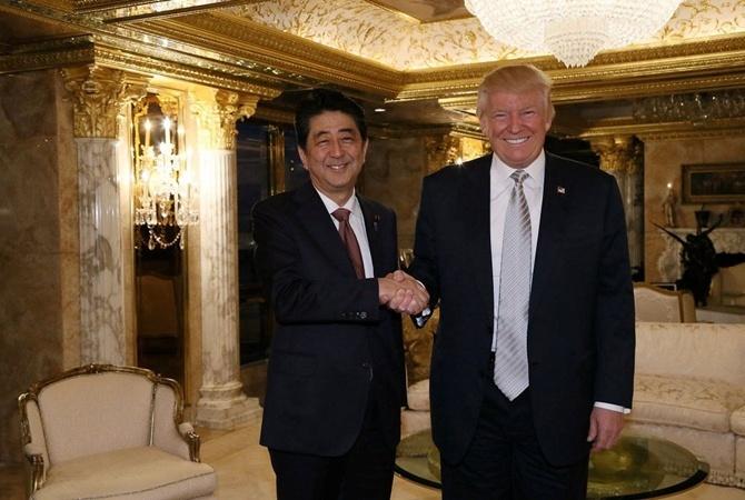 Трамп: США привержены обеспечению безопасности Японии иукреплению союза между странами