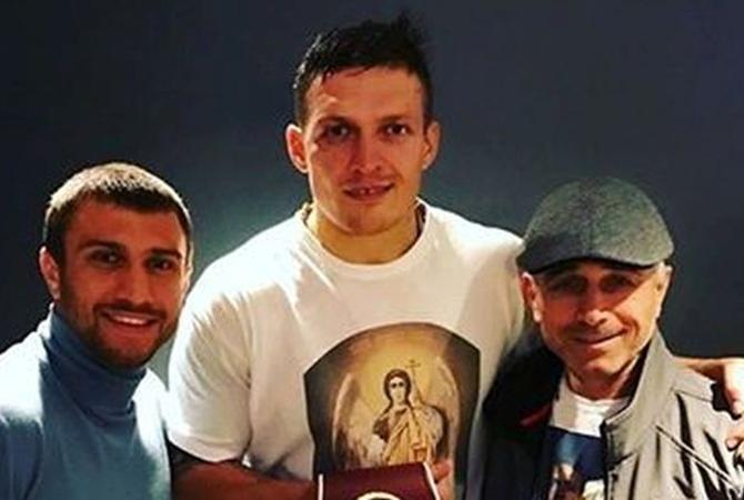 Усик закончил сотрудничество сБаширом ибудет работать сАнатолием Ломаченко