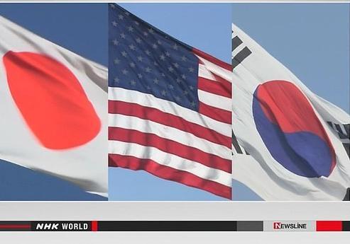 США, Южная Корея иЯпония договорились обмениваться развединформацией