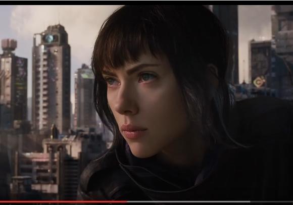 Скарлетт Йоханссон довелось раздеться для съемок в кинофильме «Призрак вдоспехах»