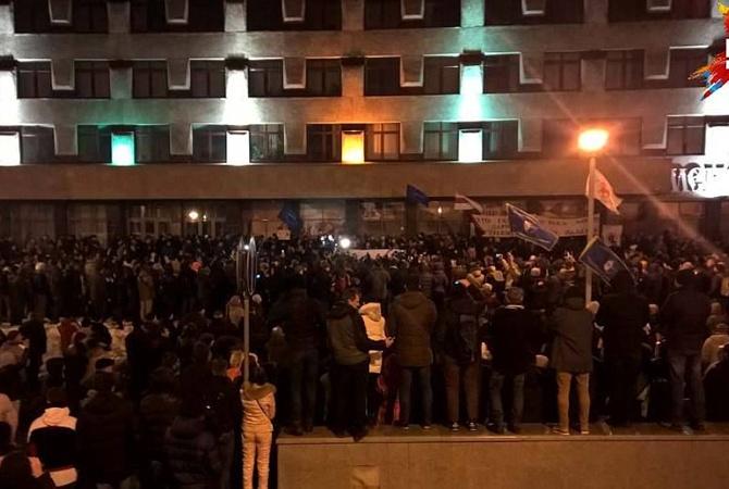 Около тысячи человек пришли на«Марш рассерженных белорусов» вМинске