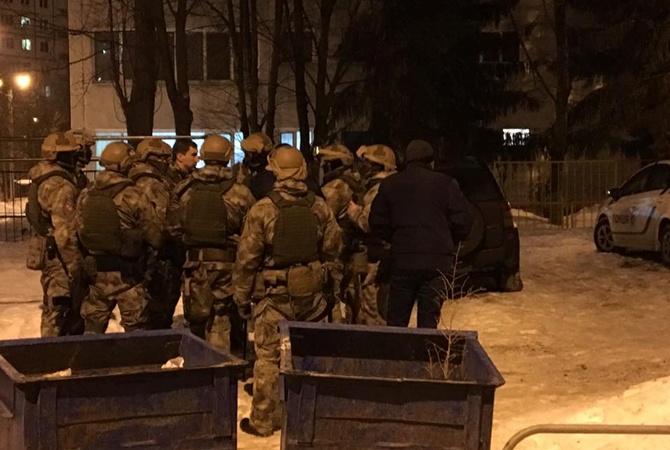 ВХарькове произошла стрельба между 2-мя вооружёнными группировками