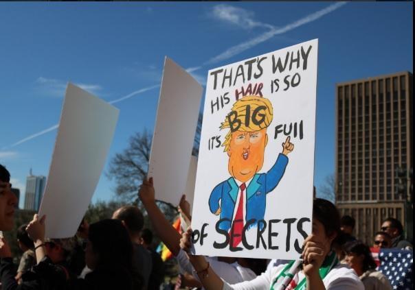 ВСША сократили мигрантов заучастие взабастовке против Трампа