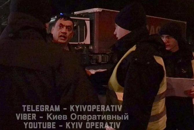 ВКиеве полицейские спогоней задержали нетрезвого водителя