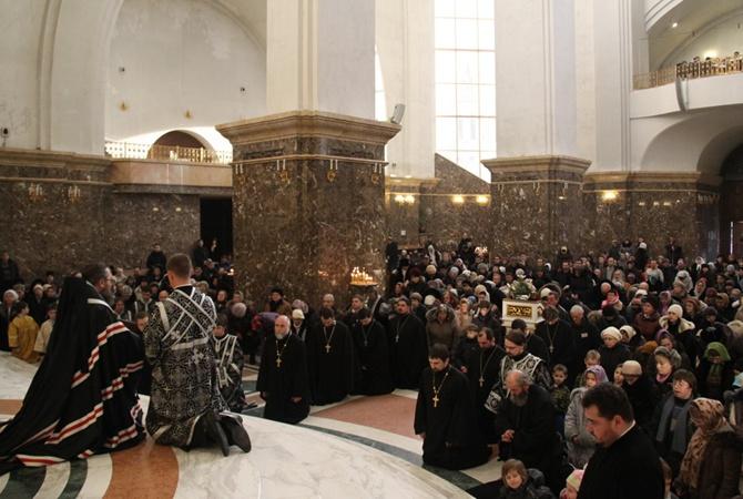 Управославных сегодня Прощеное воскресенье