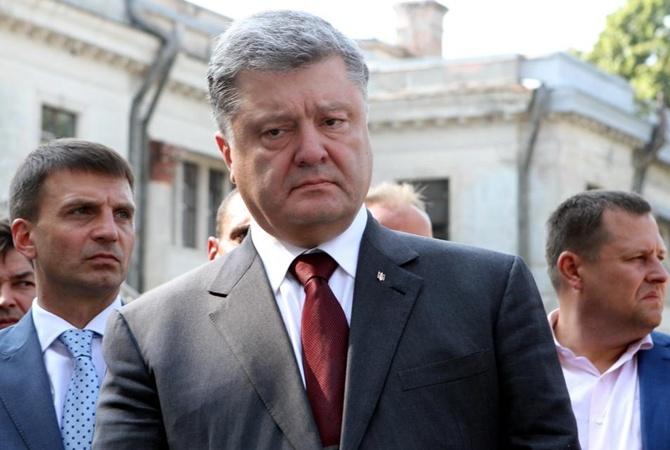 Волны «русской весны» разбились вДнипре— Порошенко