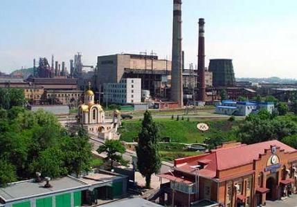 Донецкий метзавод приостановил работу из-за блокады