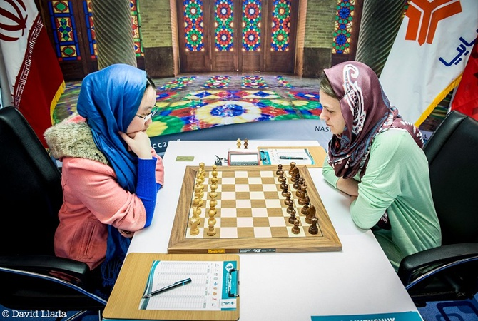 Анна Музычук сравняла счет вфинале чемпионата мира пошахматам