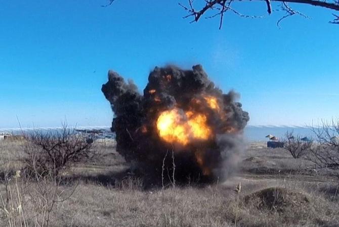 Взоне АТО засутки умер один украинский военный, 22 ранены