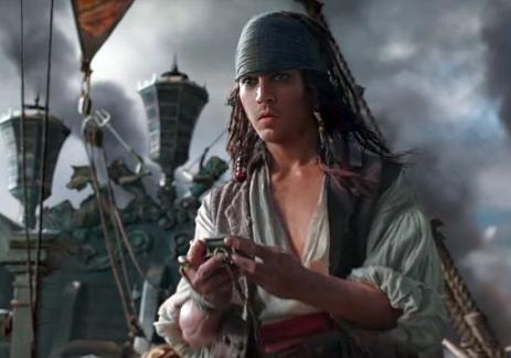 Вышел новый трейлер пятых «Пиратов Карибского моря»