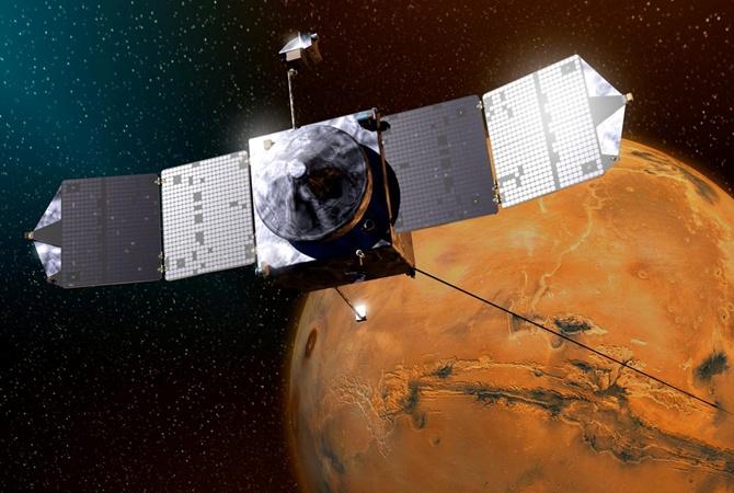 Зонд Maven совершил маневр, чтобы избежать столкновения соспутником Марса