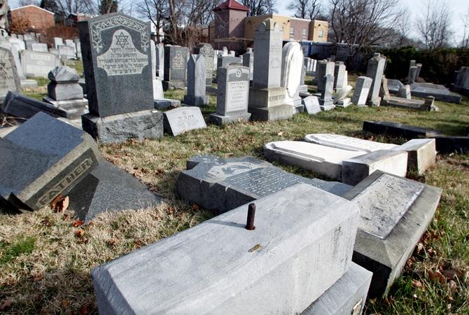 Погром наеврейском кладбище вНью-Йорке