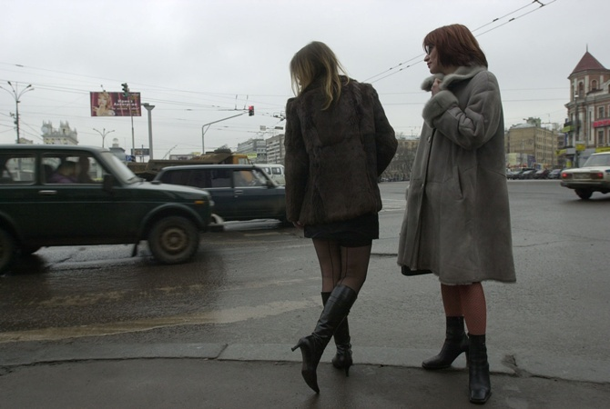 Украинские проститутки устроили митинг вцентре столицы Украины