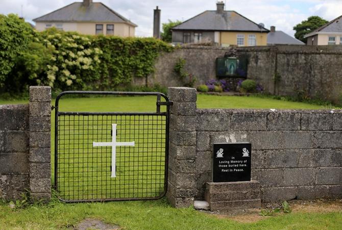ВИрландии обнаружили массовое захоронение малолетних детей