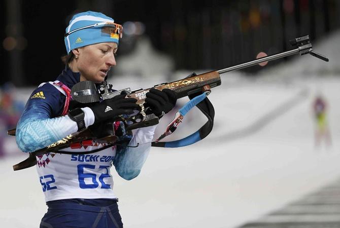 Тюменская биатлонистка Анастасия Загоруйко одолела вспринте наКубок IBU вОтепя