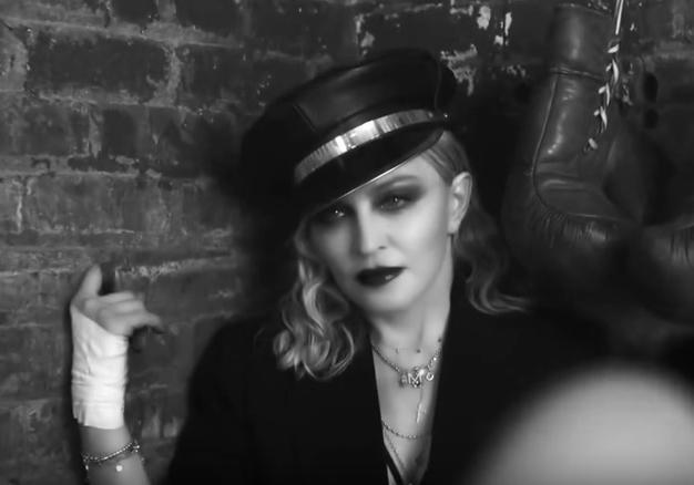 Дерзкая Мадонна снялась вчерно-белом кинофильме про феминизм