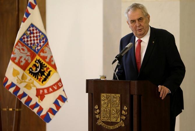 Милош Земан будет добиваться переизбрания напост президента Чехии