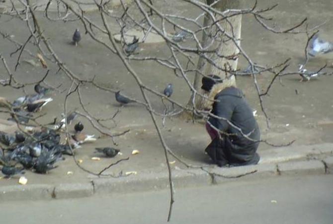 РосСМИ выдумали фейк онищих украинцах, ворующих хлеб уголубей