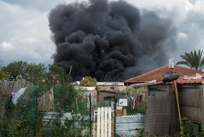 ВИзраиле произошел взрыв наскладе фейерверков, необошлось без жертв