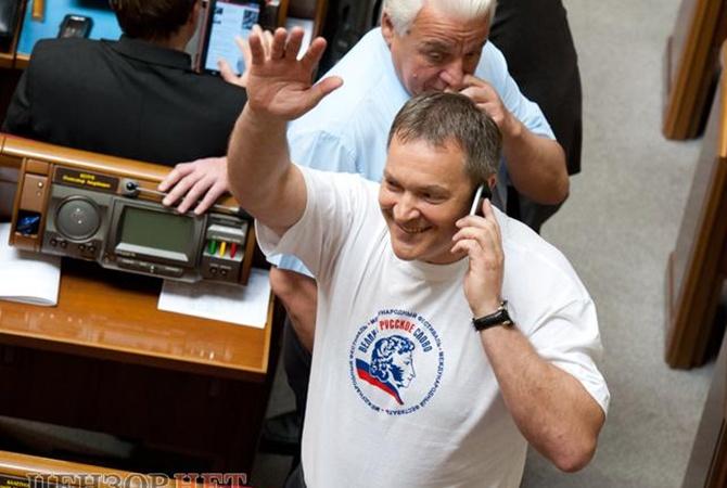 Супруга экс-регионала Колесниченко просит суд отнять его родительских прав