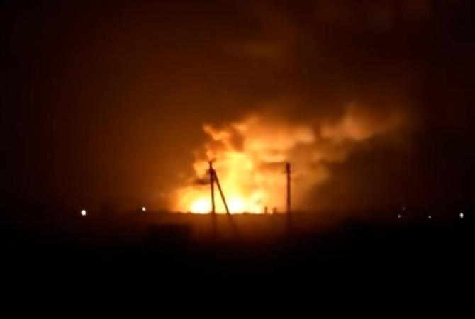 Первопричиной мощных взрывов наскладах боеприпасов под Харьковом объявили диверсию