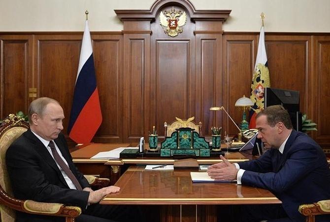 Медведев ответил наслова В. Путина о собственной болезни