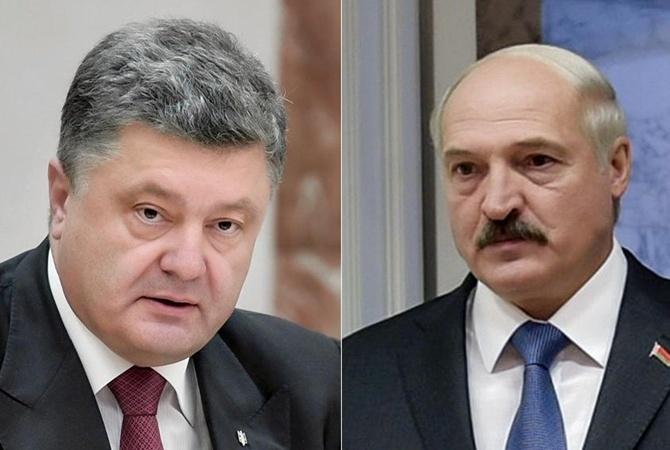 Президенты Белоруссии иУкраины обсудили развитие торгово-экономического сотрудничества