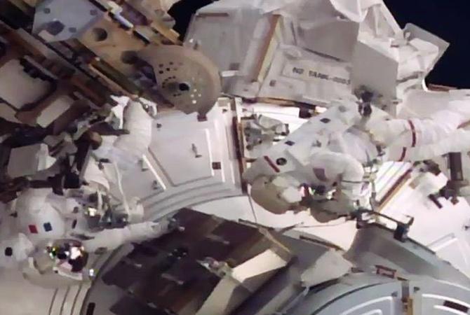 Астронавты МКС вышли воткрытый космос