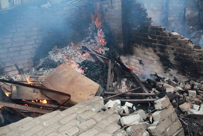 Террористы ударили поЗайцево изминометов, погибли два жителя