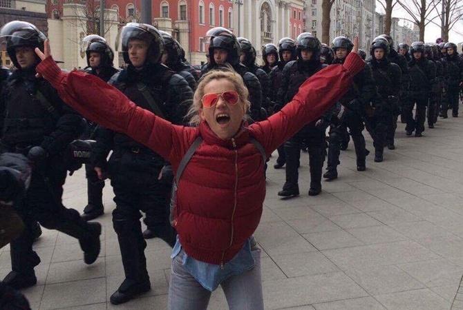 ВНижнем Новгороде составили протоколы народителей митинговавших школьников