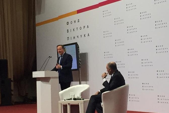 Борьба сагрессиейРФ: Порошенко иКемерон обсудили важные для Украинского государства вопросы
