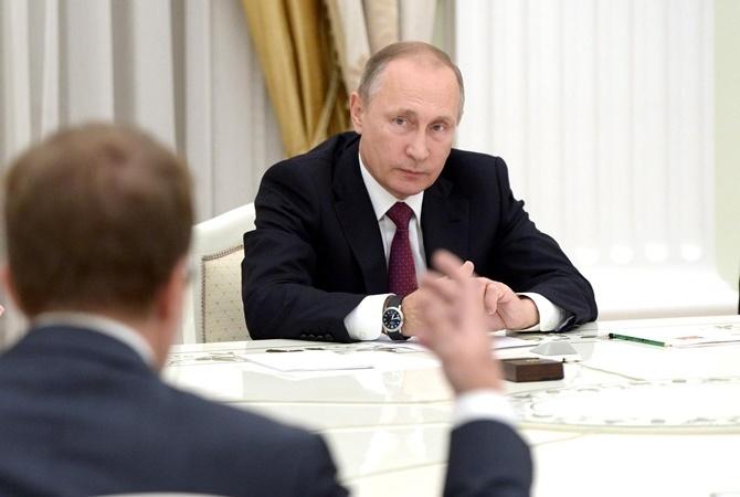 Путин прокомментировал митинги против коррупции'Вспомните Украину                        Владимир Путин. Фо