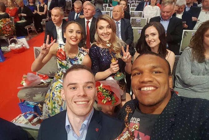 Верняев иХарлан— «Герои спортивного года-2016»