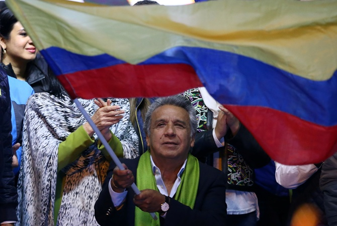 В Эквадоре президентом станет Ленин