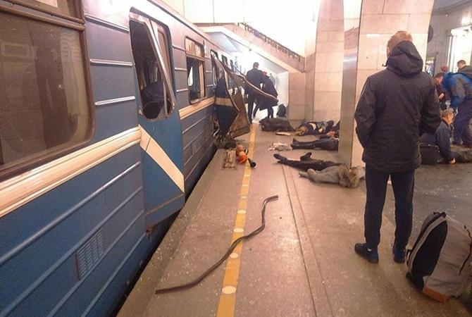 Генеральная прокуратура назвала терактом взрыв впетербургском метро