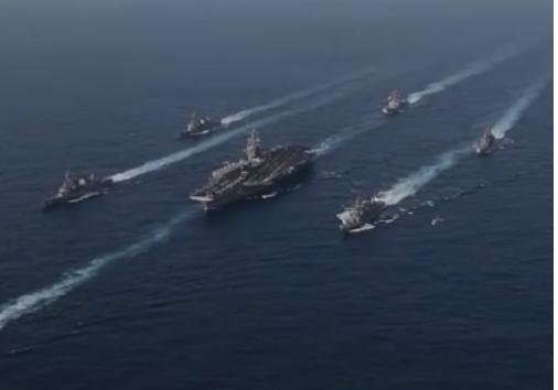 США отправили сильную ударную группу кберегам КНДР— «Томагавк» впути