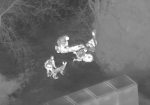 Милиция навертолете ловила детей, укравших конфеты