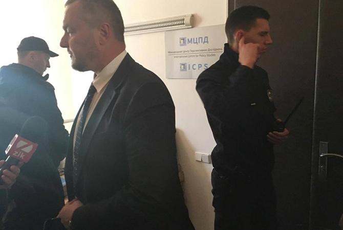 ВКиеве идет обыск центра исследований вделе о«мирном плане» Артеменко