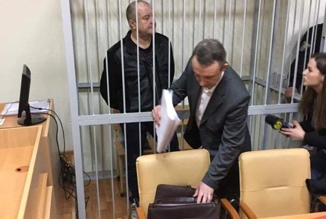 ВКиеве арестован прошлый  глава  ГАИ, экстрадированный из РФ