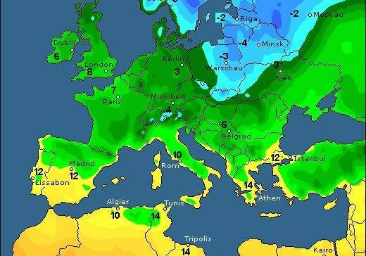 ВУкраинском государстве наПасху будет холодно