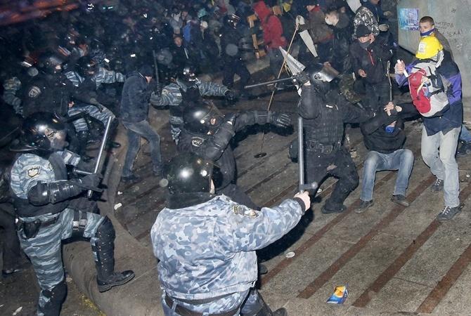 Разгон Майдана: экс-бертуковцы вплоть доэтого времени работают в милиции
