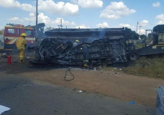 20 детей скончались в итоге  трагедии  с фургоном  вЮАР