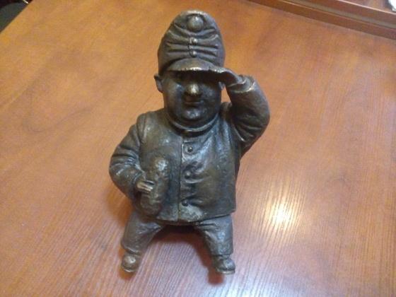 ВОдессе поймали похитительницу памятника «солдату Швейку»