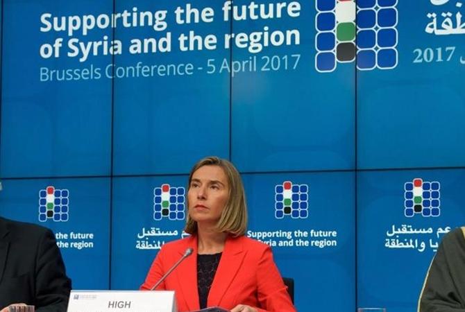Могерини в столице России будет говорить сЛавровым обУкраине иСирии