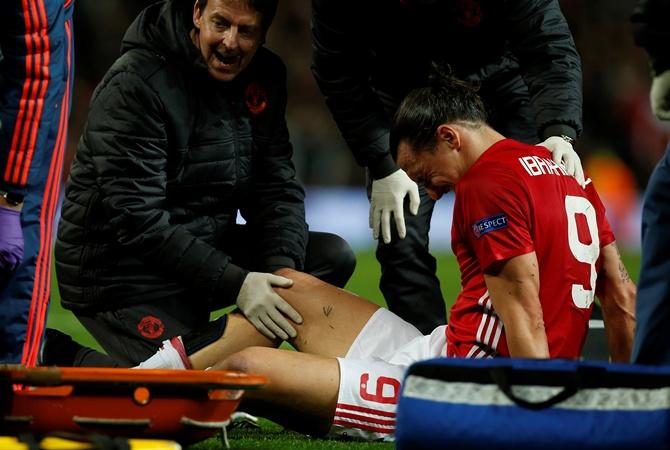 Златан Ибрагимович несобирается заканчивать карьеру из-за травмы