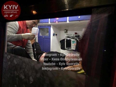 ВКиеве неизвестный ранил 3-х человек